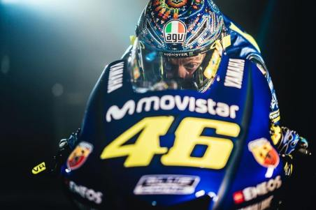 Valentino is known for his number 46.