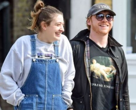 Georgia Groome spotted with Rupert Grint while spending quality time together