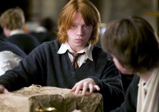 Rupert Grint plays his role in the Harry Potter Franchise