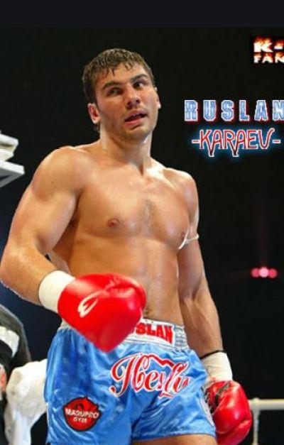 Ruslan Karaev as a professional boxer