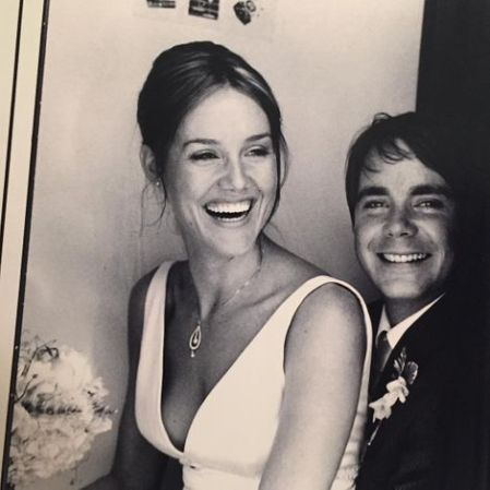 Erinn Hayes and Jack Hayes' wedding picture