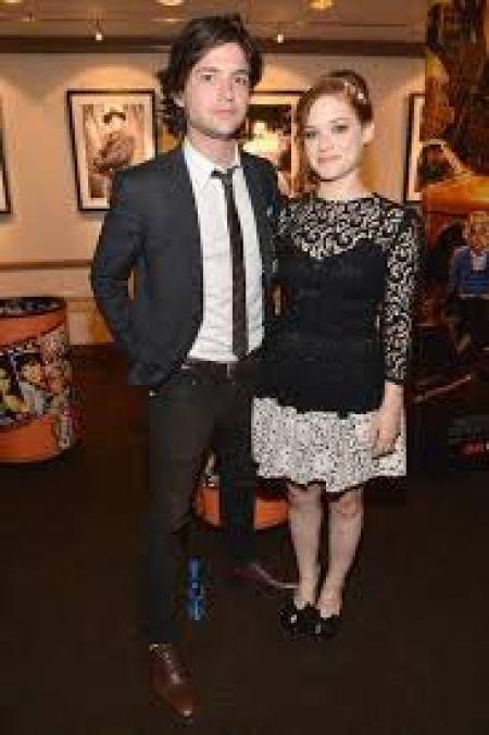 Jane Levy with her boyfriend