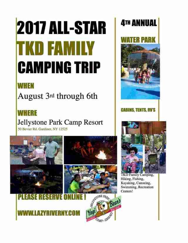 Camping Taekwondo