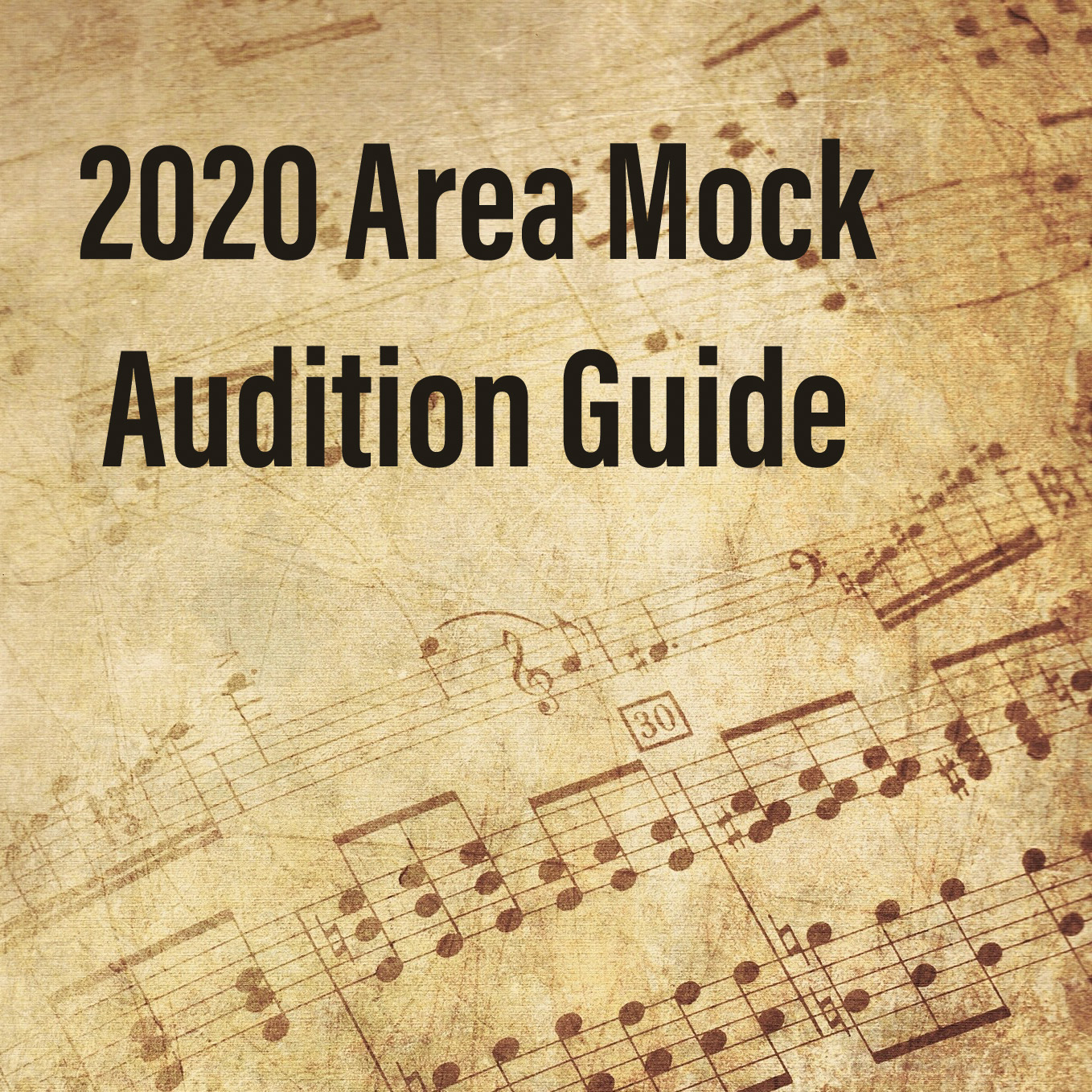 Area Mock Audition Guide