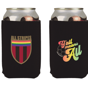Y'All Means All Koozie