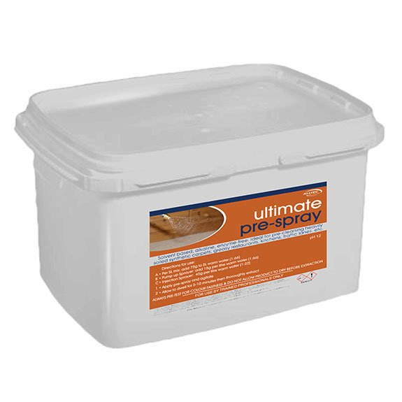 Ultimate Prespray 4kg Alltec Network Professional Carpet Cleaning Equipment Solutions Machines Training