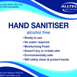 Hand Sanitiser Refill – 1L or 5L – For our Foaming or Spray Sanitiser
