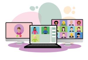 video conference, webinar, digitization