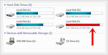 free disk space - Easily fix Blue Screen of Death Error