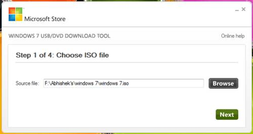 Create a windows 7 bootable usb in under 9 minutes -Windows 7 USB/DVD Download Tool