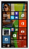 Windows Phone 8.1 3 row Live Tiles