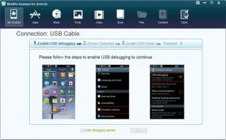 Mobikin assistant for android pc suite - setup