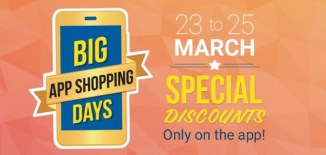 Flipkart Big App Shopping Sale from 23-25th March - Featured Image