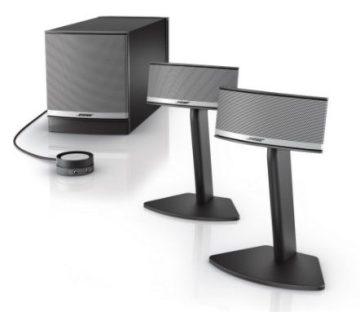bose companion 5 - best audiophile PC speakers - 12 Best Audiophile Computer Speakers Under $100-$500