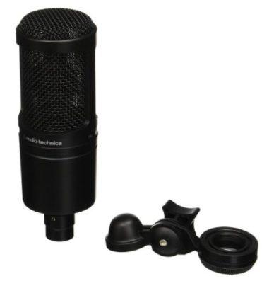 audio technica - best budget condenser microphones for Studio - Best Condenser Mics: 13 Best Condenser Microphones Under $200