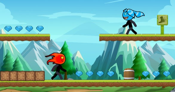 fireboy and watergirl game - free fireboy and watergirl 5 - fireboy and watergirl crystal temple