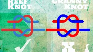 Reef Knot vs Granny Knot