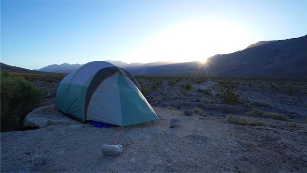 Saline Valley Upper Warm Spring Camp