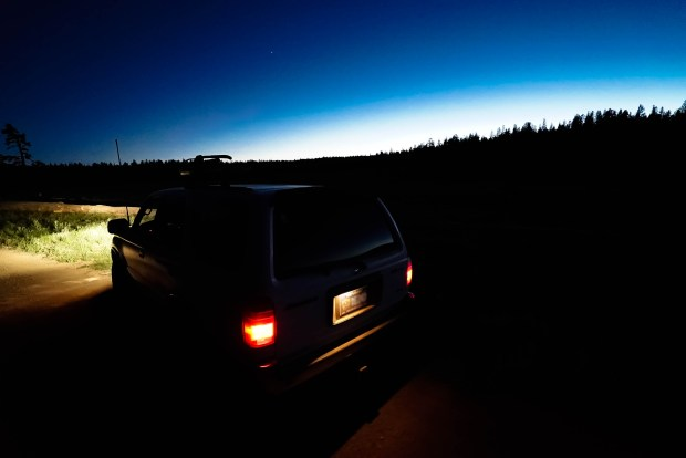 Big Meadow At Night, Mt. Rose, Nevada