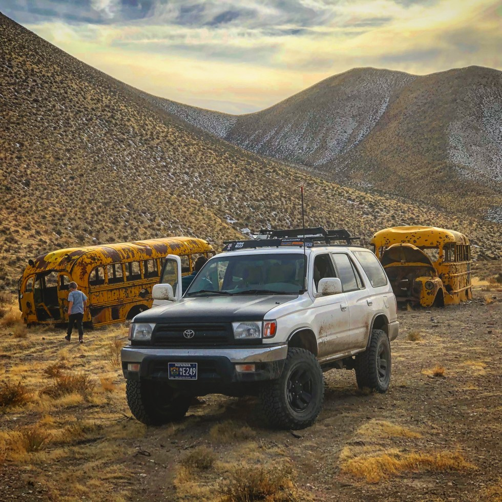 Schoolbus Canyon, Nevada