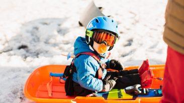 Start kids skiing early