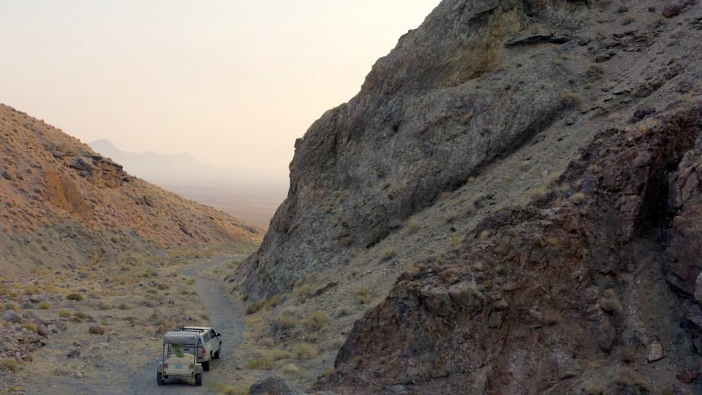 Nightengale Canyon, Nightengale mountains, Nevada