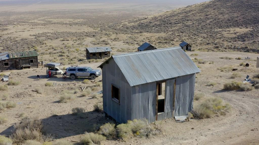 Tunnel Camp Nevada