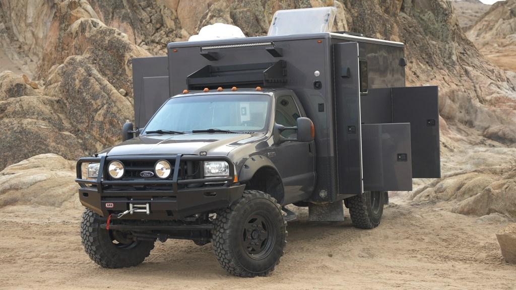 Ambulance RV Conversion compartments