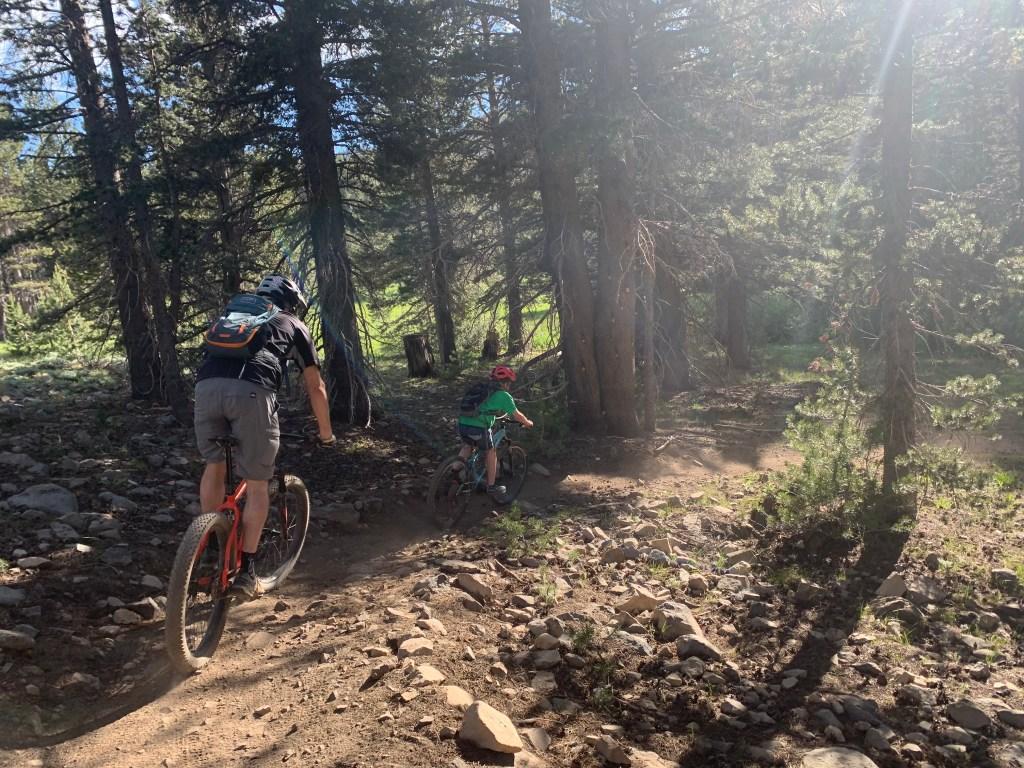 Tahoe Mountain Biking Tamarack Lake Trail