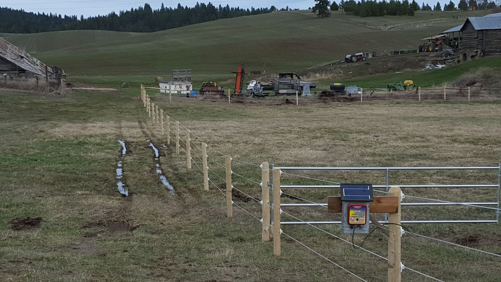 horse rail fencing