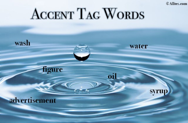 Accent Tag Words