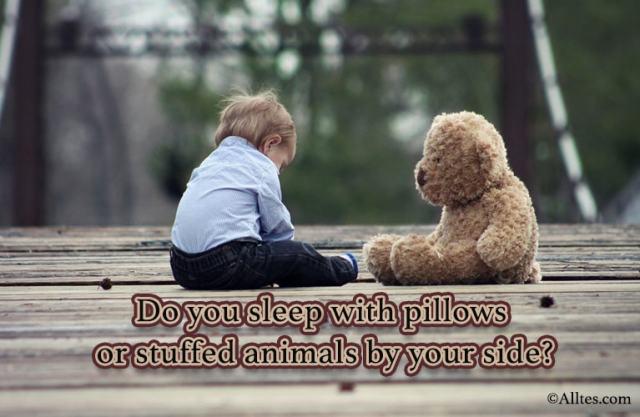 Do you sleep with pillows
