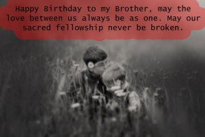 happy birthday wishes for brother according to bible verses