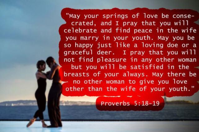 Proverbs 5:18-19