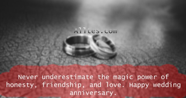 The magic power of honesty, friendship, and love.