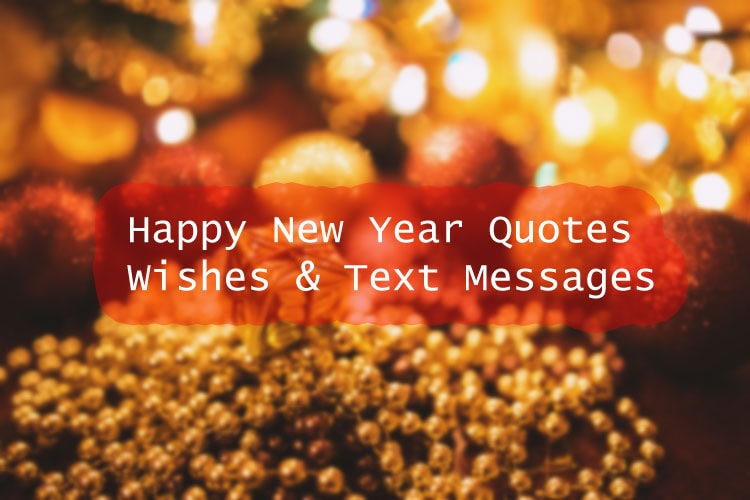 happy new year quotes & text messages