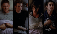 Best episode (C): Glee 4x04 The Break Up. Besides each and every Friends episode, I almost never rewatch tv shows or an episode by itself. I did with Glee's The Break Up, so that pretty much sums it all up. It was nice that the Glee writers had the balls to write such a plot twist, plus they did some really good songs that week.