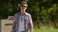 Biggest douchebag (M): Chris Keller - One Tree Hill. Yay, Chris Keller - always talking about himself in the third person - came back for the final season of One Tree Hill! He is a douchebag in a funny way: acting all tough but completely freaking out when someone calls his bluff. Plus he had an awesome bromance going with Chase. If you are looking for a douche-douchebag, just check out Tommy on Arrow. He's an ass.