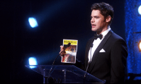 Biggest tearjerker (C): Tony Award acceptance speech - Smash. Like the super emotional Phenomenon episode wasn't enough, Jimmy closes of with his acceptance speech on behalf of Kyle.
