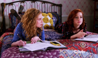 Favorite BFF's (C): Lisa and Tessa - Suburgatory. When Tessa's down, there's always Lisa to cheer her up with her meowing renditions of top hits in the 80s/early 90s