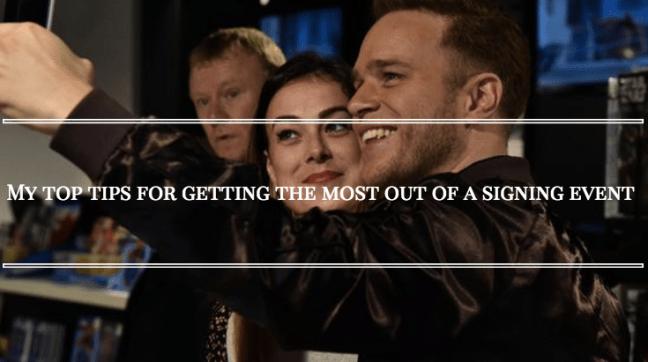 Olly Murs Signing HMV