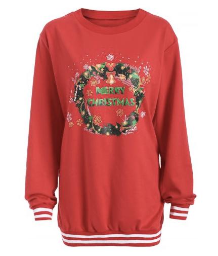 Rosegal Christmas sweatshirt