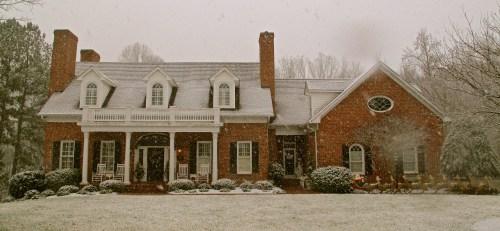 Our white Christmas