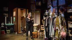 Laura (Laura Kirman), Val (James Marlowe) and Ester (Simon Day)