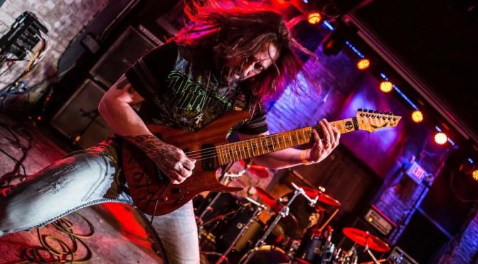 Interview:  The King of Shred Rusty Cooley