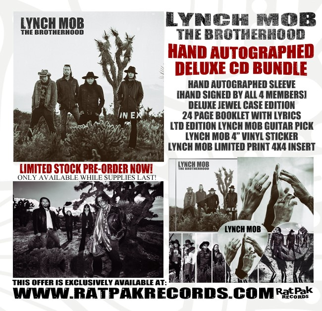 Lynch Mob's The Brotherhood Will Be Released On September 8, 2017