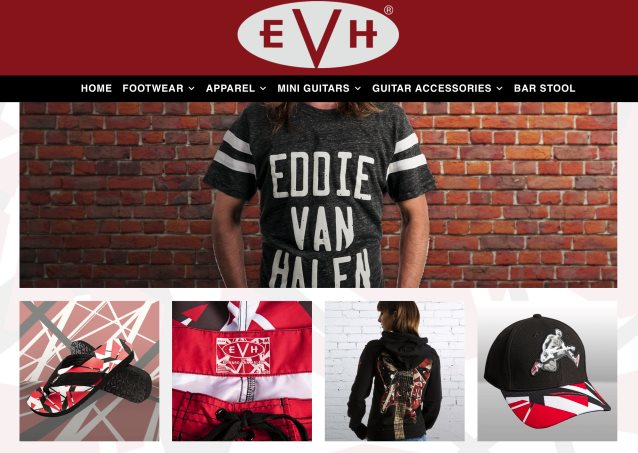 Eddie Van Halen Launches New Online Store; Apparel, Guitar Accessories and More