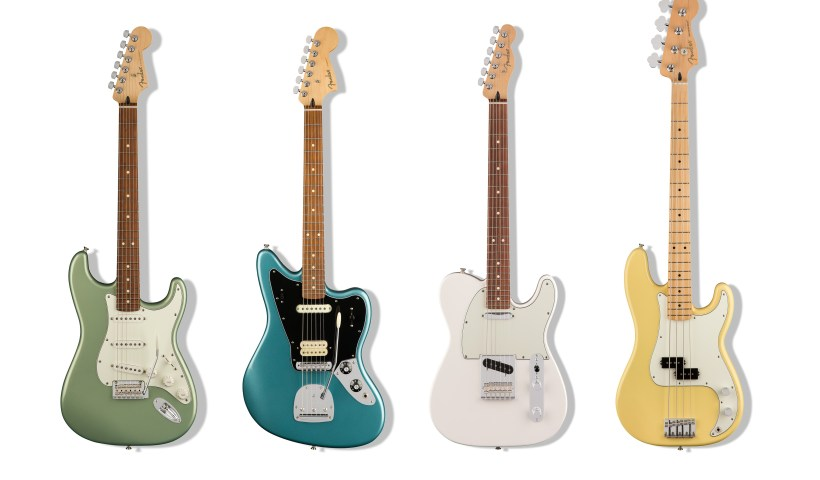 Fender® Introduces New Player Series™ Electric Guitars For Aspiring Artists, Players Ready To Elevate Their Sound