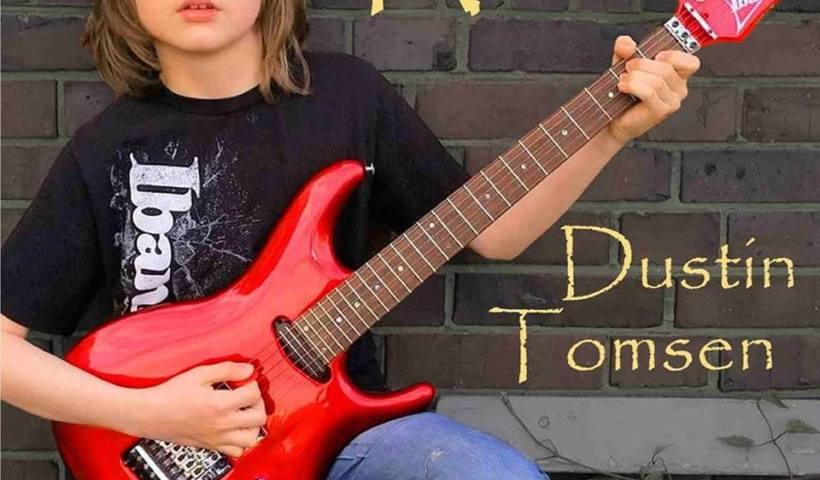 "13 Year Old Dustin Tomsen Covers Paul Gilbert ""Down To Mexico"""