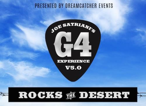 Joe Satriani Announces G4 Experience Featuring Bumblefoot, Neal Schon & Others
